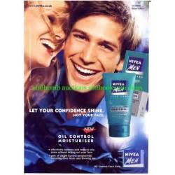 Nivea for Men Oil Control Moisturiser Vintage Magazine Ad ...