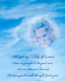 My Son in Heaven Poems