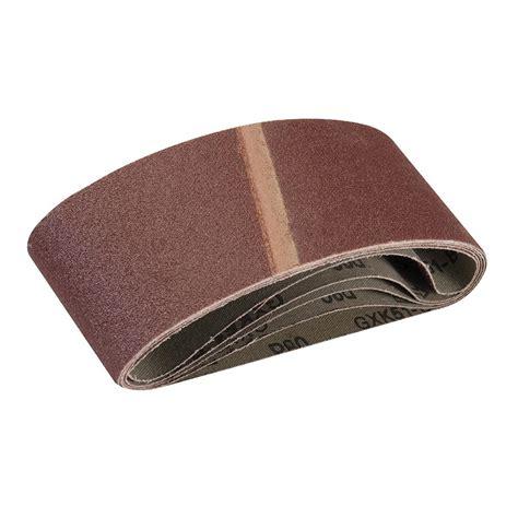 silverline sanding belts plasterpaintvarnish mixed size grit sander set   ebay
