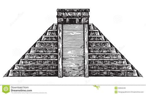 Pyramid Clipart Mayan Pyramid
