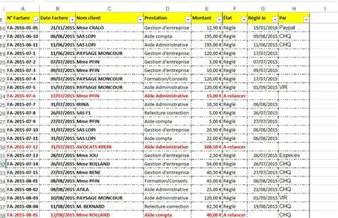 vos chrono de suivi factures et devis rep secretariat