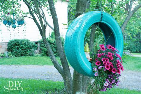 diy tire planter tutorialdiy show  diy decorating