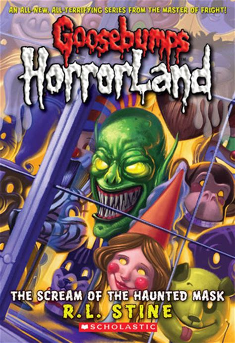 scream   haunted mask goosebumps horrorland