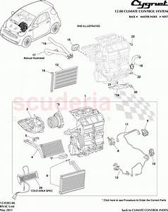 Aston Martin Cygnet Hvac Unit Parts
