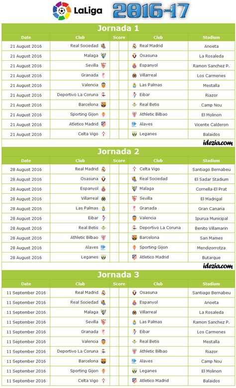 la liga table 2016 17 download spanish la liga 2016 2017 fixtures pdf png cavpo