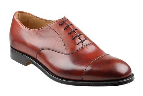Mens Shoes by Mens Brown Calf Oxford Shoe