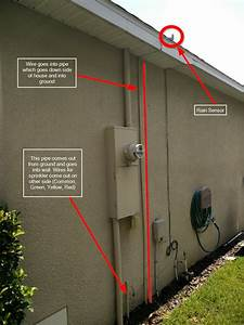 Checking If Rain Sensor Is Connected To Common Wire And