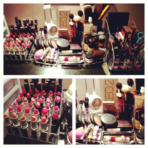 Acrylic Makeup Organizers For Your Vanity Table Or Desk