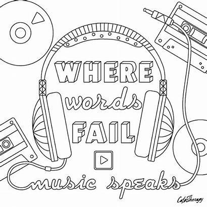 Coloring Pages Cool Adult Speaks Words Printable