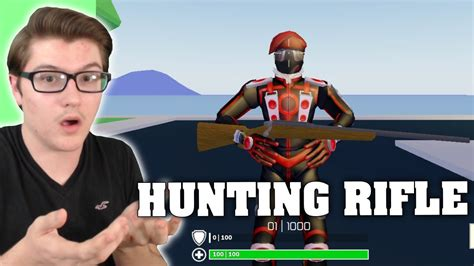 hunting rifle update  strucid roblox fortnite