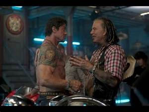 MICKEY ROURKE QUITS THE EXPENDABLES 2! - YouTube