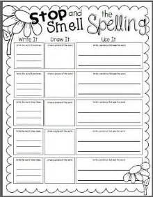 Practice Spelling Words Worksheets