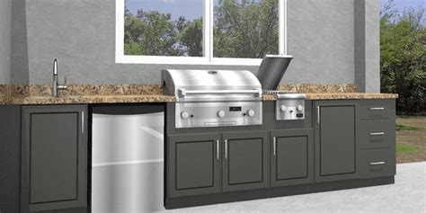 polymer cabinets for outdoor kitchens outdoor kitchen cabinets polymer 7518