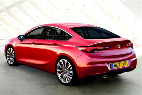New Vauxhall Insignia Grand Sport  Spy Shots And
