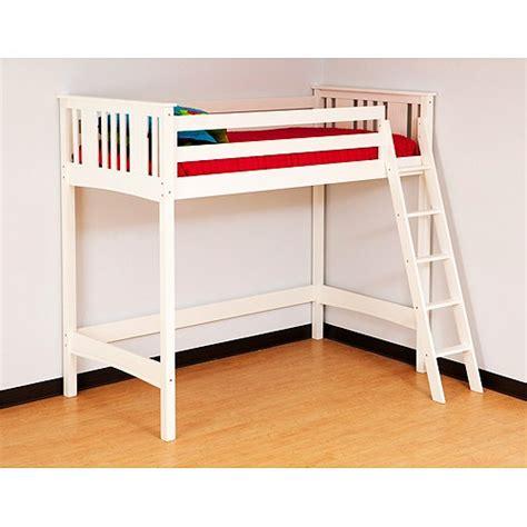 canwood loft bed canwood base c loft bed white