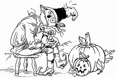 Halloween Themed Coloring Pages Printable Adults Drawing
