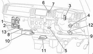 Toyota Hiace  2004 - 2013  - Fuse Box Diagram
