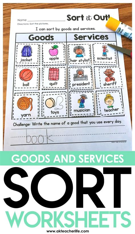 goods  services sort goods services community