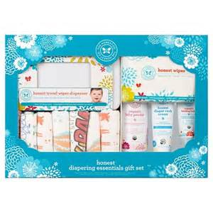 honest company diapering essentials gift set target