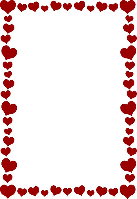 Valentines Day Border Home Concepts Ideas XPrW0z Clipart