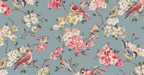 Cath Kidston Digital Wallpaper by Blossom Birds Banner 2 1 Jpg 690 215 360 Pixels Cath Kidston