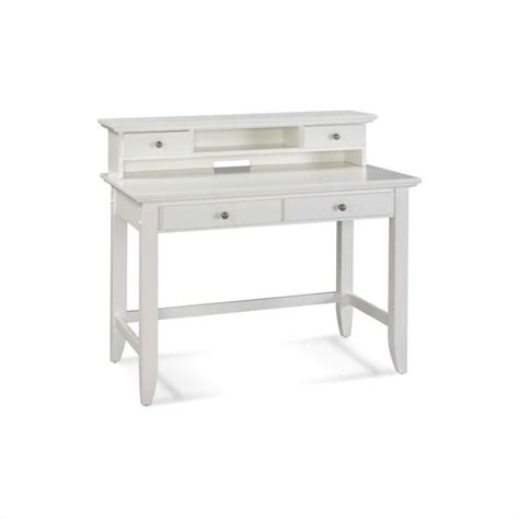 desk and hutch set student desk and hutch set in white finish 5530 162