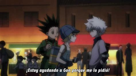 hunter  hunter phantom rouge killua celoso youtube