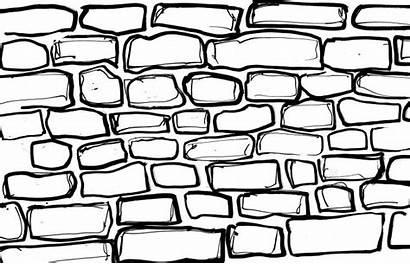 Brick Wall Drawing Coloring Printable Drawings Bricks