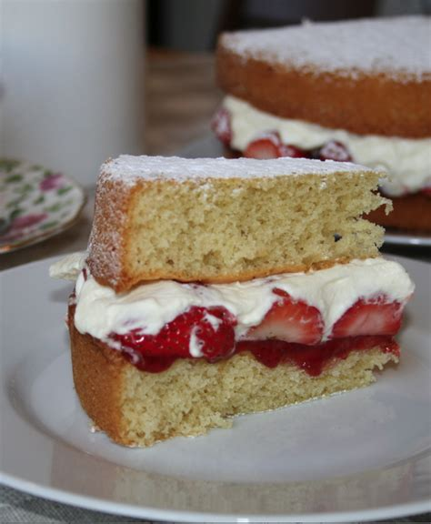 victoria sponge cake londres calling