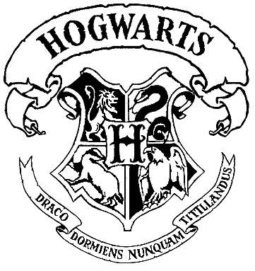 hogwarts alumni sticker the 25 best ideas about hogwarts crest on