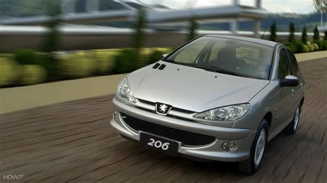 Peugeot 206 2008 Car Hd Wallpaper