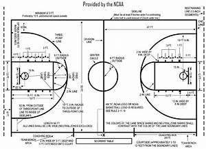 Dimensions For Half Court Basketball