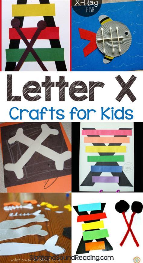 letter x crafts for preschool or kindergarten easy 421   Letter X Crafts