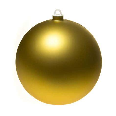 gold matt shatterproof bauble 170mm baubletimeuk