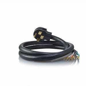 4-prong Electric Stove Range Cord - 4 Feet