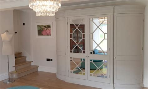 Made To Measure Wardrobes by Custom Built Solid Wood Painted Bedroom Furniture Made