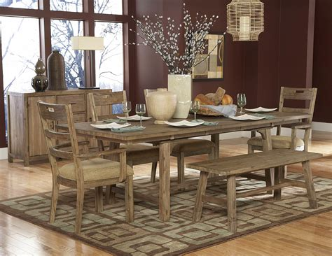 rustic dining room sets to always feel in country