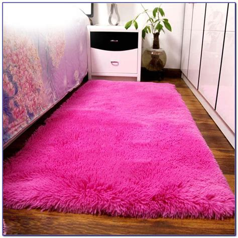 Pink Fuzzy Area Rugs Download Page ? Home Design Ideas