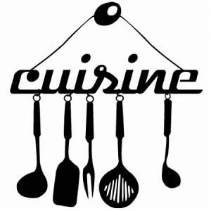 Porte Ustensile Cuisine : stickers ustensile cuisine stickers malin ~ Teatrodelosmanantiales.com Idées de Décoration