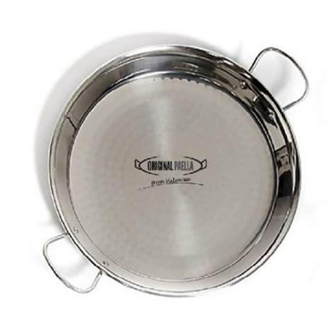 cuisiner haricot plat poele a paella inox 70 cm pour 20 30 personnes parts poele