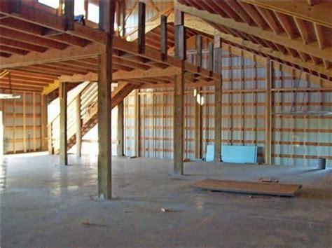 Barn Shop Ideas by Pole Barns Living Quarters Custom Shop With Living