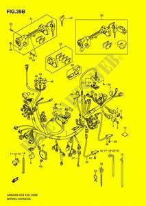 Faisceau Electrique  An650l0  Pour Suzuki Burgman 650 2006