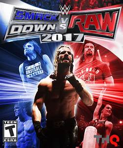 WWE SmackDown vs. RAW 2017 Cover #2 by LastBreathGFX on ...