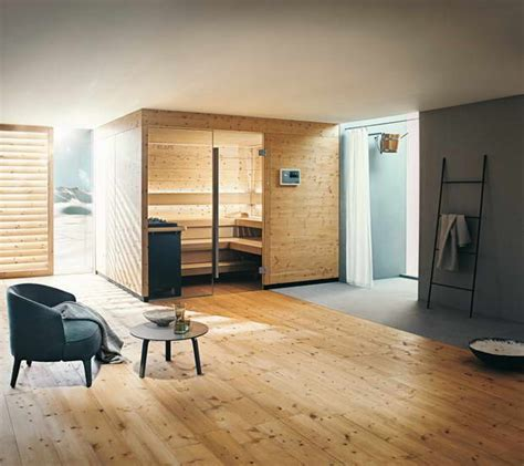 Spa Zu Hause by The New Sauna Chalet Made From Pine Stylish