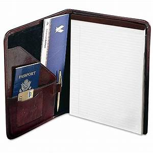 sienna letter size writing pad cover 7111 jack georges With letter size writing pads