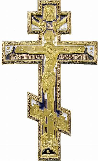 Cross Transparent Orthodox Christianity Christian Crucifix Russian