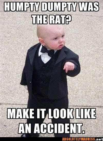 Mob Baby Meme - 17 best images about hayley s mob murder mystery party on pinterest juice joint liquor and