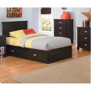 ameriwood twin storage bed with 2 drawers big lots