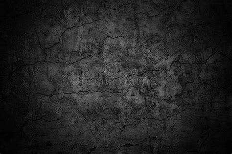 grim wall texture dark background black cement stock