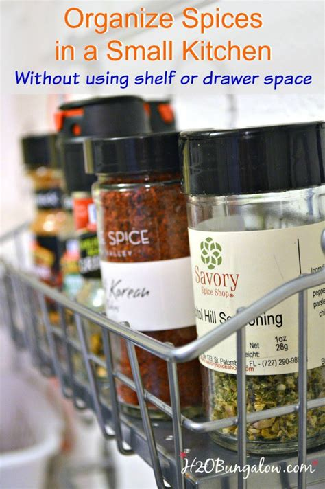 how to organize a small kitchen without a pantry how to organize spices in a small kitchen 9921